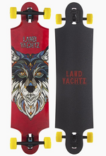 Landyachtz Ten Two Four Wolf Main Image Showing Graphic and Top of Deck