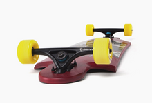 Landyachtz Ten Two Four Wolf Longboard Bottom Profile