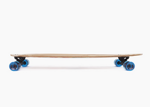 Bamboo Pinner V-Lam Pintail Longboard Complete