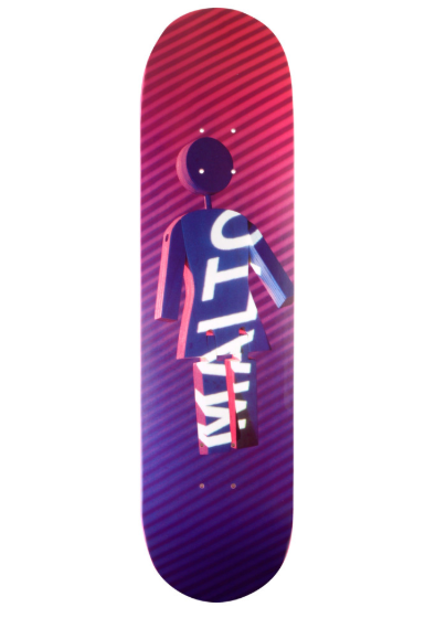 Malto Future Projections 8.12 inch Skateboard Deck