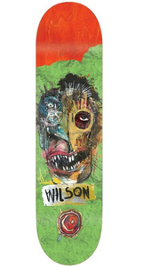 "Foundation ""Wilson Yocopio"" Skateboard Deck 8.125"""