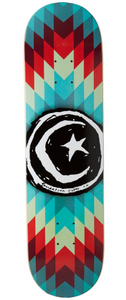 "Foundation ""Star and Moon Navajo"" Skateboard Deck 8.0"""