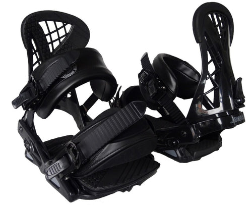 Santa Cruz Plasma Snowboard Bindings Black