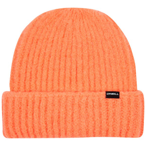 O'Neill Fold Over Beanie Orange Front