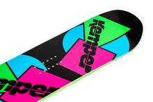 Kemper Freestyle 1989/1990 All Mountain Snowboard Black Nose Tip Close Up Detail