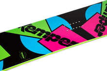 Kemper Freestyle 1989/1990 All Mountain Snowboard Black Kemper Logo Mid Detail
