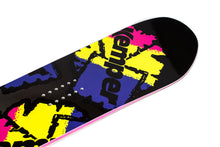 Kemper Snowboards Flight 1990/1991 Yellow All Mountain Snowboard Nose Tip Close Up Detail