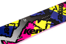Kemper Snowboards Flight 1990/1991 Yellow All Mountain Snowboard Mid Close Up Detail