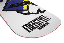 Kemper Snowboards Flight 1990/1991 Yellow All Mountain Snowboard Tail Close Up Detail