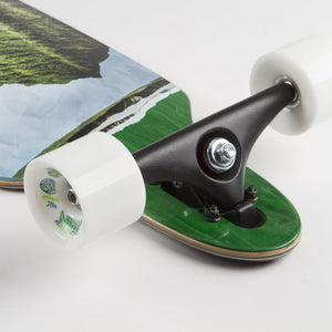Vista Maple Lookout Drop-Through Longboard Complete