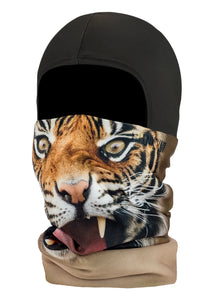 Function Kids Balaclava Facemask Tigers