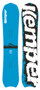 Kemper Apex Kurt Heine 2019/2020 Powder Snowboard Blue top and bottom sheet