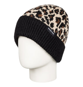 DC Shoes Motif Beanie Leopard Fade on Model Head