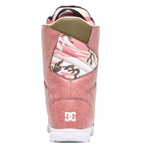 DC Shoes Women's Search Boa Coiler Snowboard Boot Rose Back View