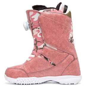DC Shoes Women's Search Boa Coiler Snowboard Boot Rose Inside View