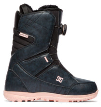 DC Shoes Women's Search Boa Coiler Snowboard Boot Black Outside View
