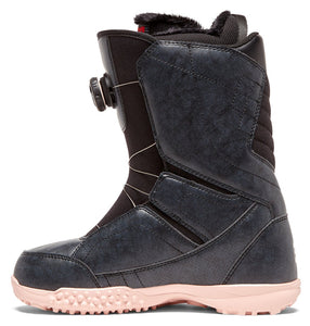 DC Shoes Women's Search Boa Coiler Snowboard Boot Black Inside View