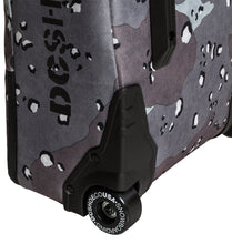 DC Shoes Tarmac Wheelie Board Bag Grey Wheel Close-up