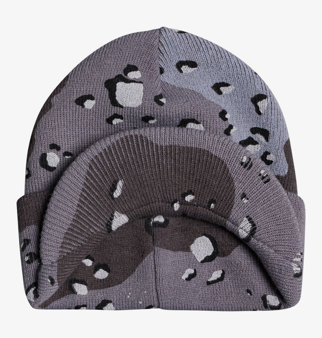 DC Shoes Marquee Beanie Grey Front View