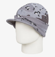 DC Shoes Marquee Beanie Grey on Mannequin View