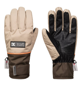 DC Shoes Men's Franchise Glove Twill Front and back view