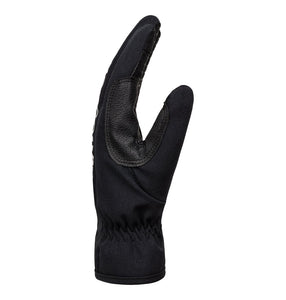 Dc Shoess Men's Salute ski and snowboarding gloves salute black side view
