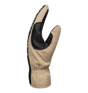 DC Shoes Men's Salute Glove Side View Twill Tan