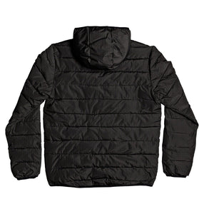 DC Shoes Turner Puffer Hooded Insulater Jacket Black Back View