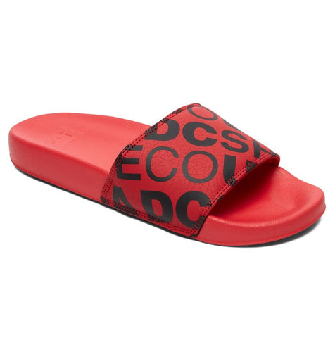 MEN'S SLIDE SANDAL RED/BLACK