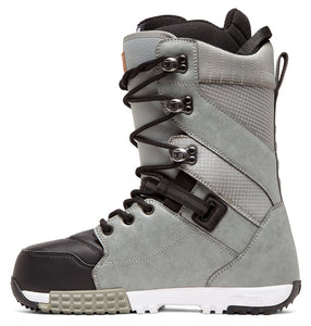 DC Shoes Men's Mutiny Lace Up Snowboard Grey Boot Inside View