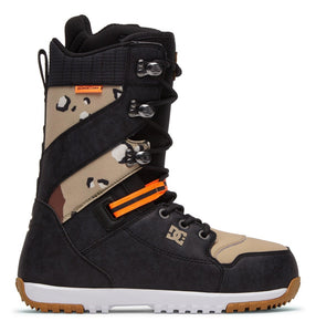 DC Shoes Men's Mutiny Lace Up Snowboard Boot Camo Outside View