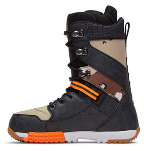 DC Shoes Men's Mutiny Lace Up Snowboard Boot Camo Inside View
