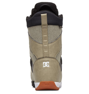 DC Shoes Men's Mutiny Lace Up Snowboard Boot Tan Back View