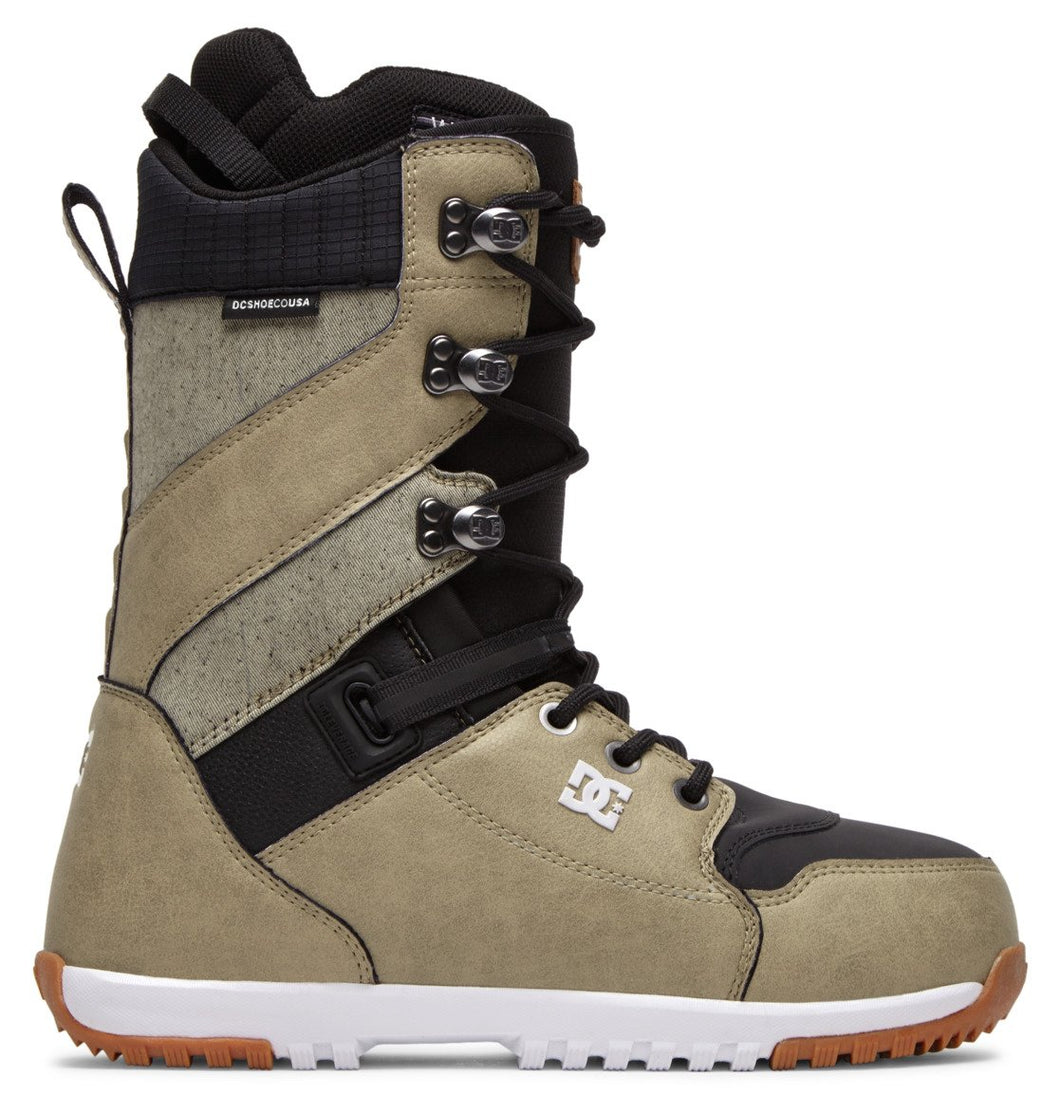 DC Shoes Men's Mutiny Lace Up Snowboard Boot Tan Outside View