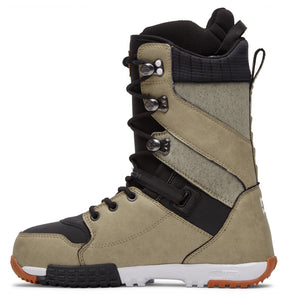 DC Shoes Men's Mutiny Lace Up Snowboard Boot Tan Inside View