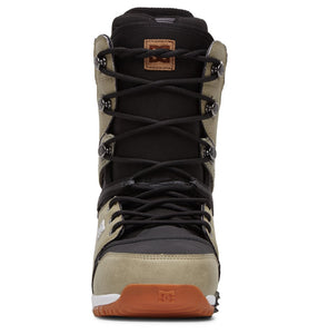 DC Shoes Men's Mutiny Lace Up Snowboard Boot Tan Front View
