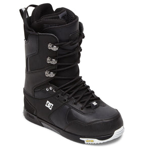 DC Shoes Men's The Laced Lace Snowboard Boot Black Angled View