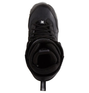 DC Shoes Men's The Laced Lace Snowboard Boot Black Top View