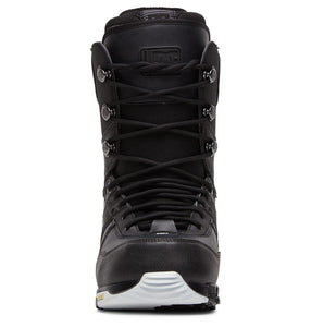DC Shoes Men's The Laced Lace Snowboard Boot Black Front View