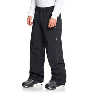 DC Shoes Squadron Snow Pant Black Angled Side View