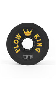 hawgs wheels plow kings 72mm 78a longboard wheels black