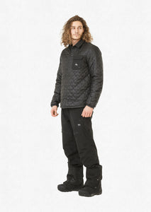 Picture Men's Annecy Lightweight Puffy Midlayer Jacekt Black Front Model Full Profile
