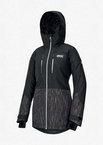 Picture Women's Apply Ski and Snowboard Jacket Black Front