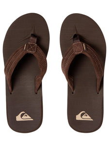 Carver Suede Leather Sandals - Demitasse (Solid)