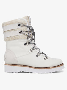 Rox Women's Brandi Boot White Side view