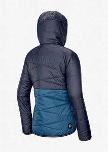 Picture Women's Chloe Reversible Synthetic Puffy Jacket Dark Blue Back