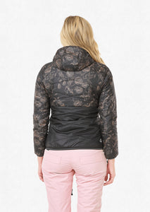 Picture Women's Chloe Reversible Synthetic Puffy Jacket Versaille Back Model