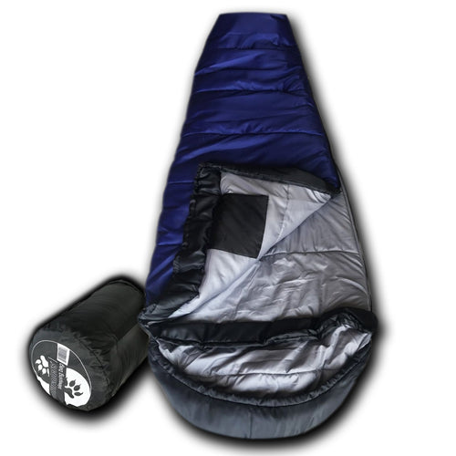 KidMummy +0 Degree Premium Xfil Synthetic Down Kid's Mummy Sleeping Bag