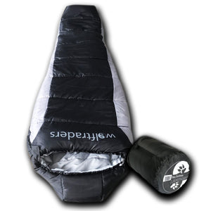 Wolf Traders -20 Degree Premium Lightweight Xfil Synthetic Down Mummy Sleeping Bag