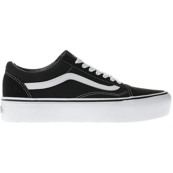 FU OLD SKOOL PLATFORM BLACK/WHITE